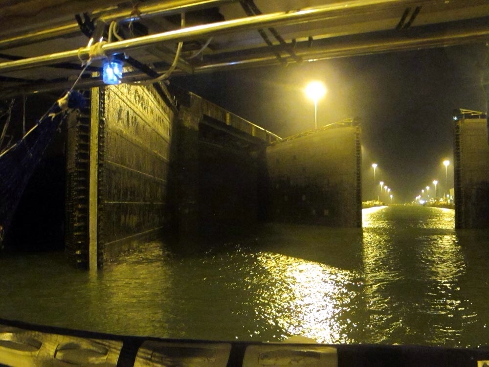 Panama Canal Night Crossing