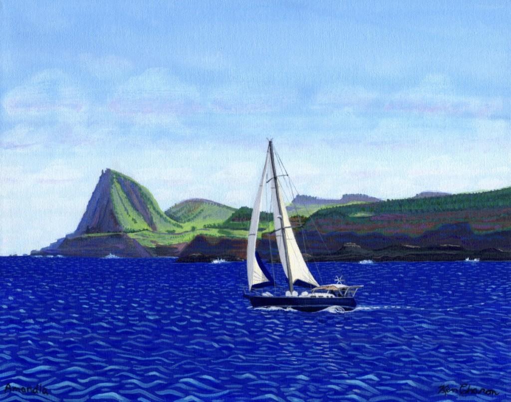 Amandla Painting by Ken Charon