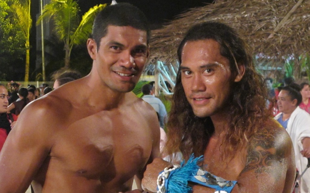 Heiva Dancers - Bora Bora - June 2014