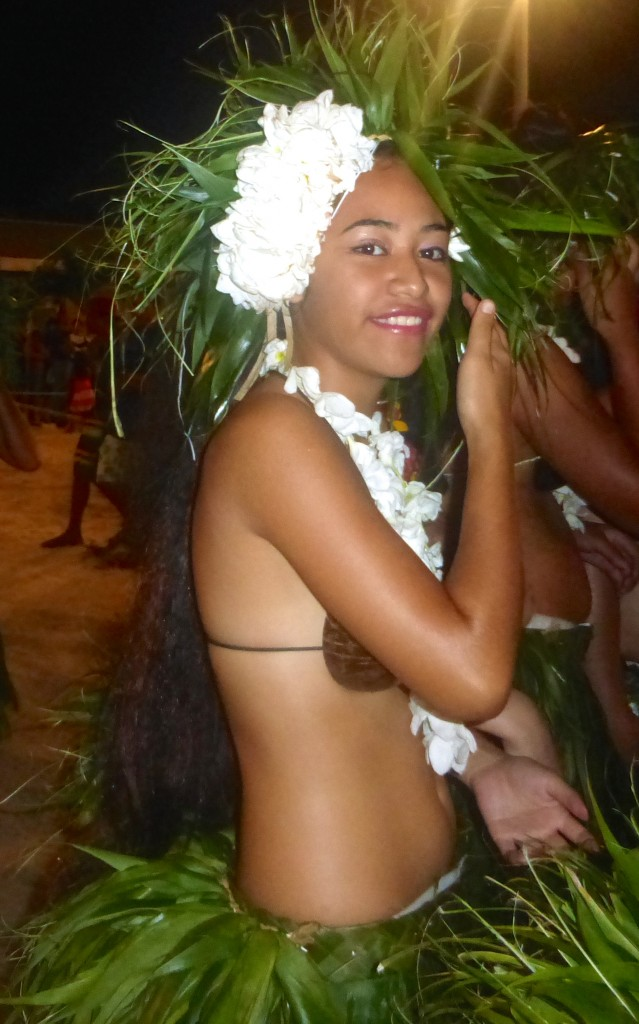 Heiva Dancer - Bora Bora July 2014