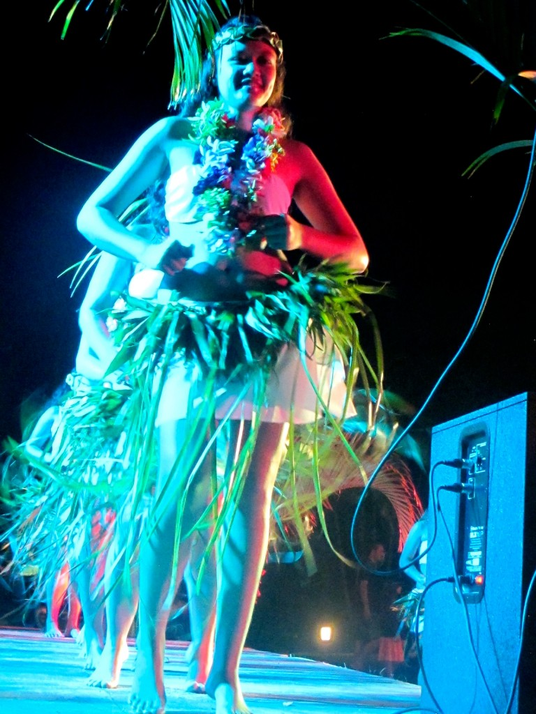Moorea - July 2014 - Heiva Stage Left
