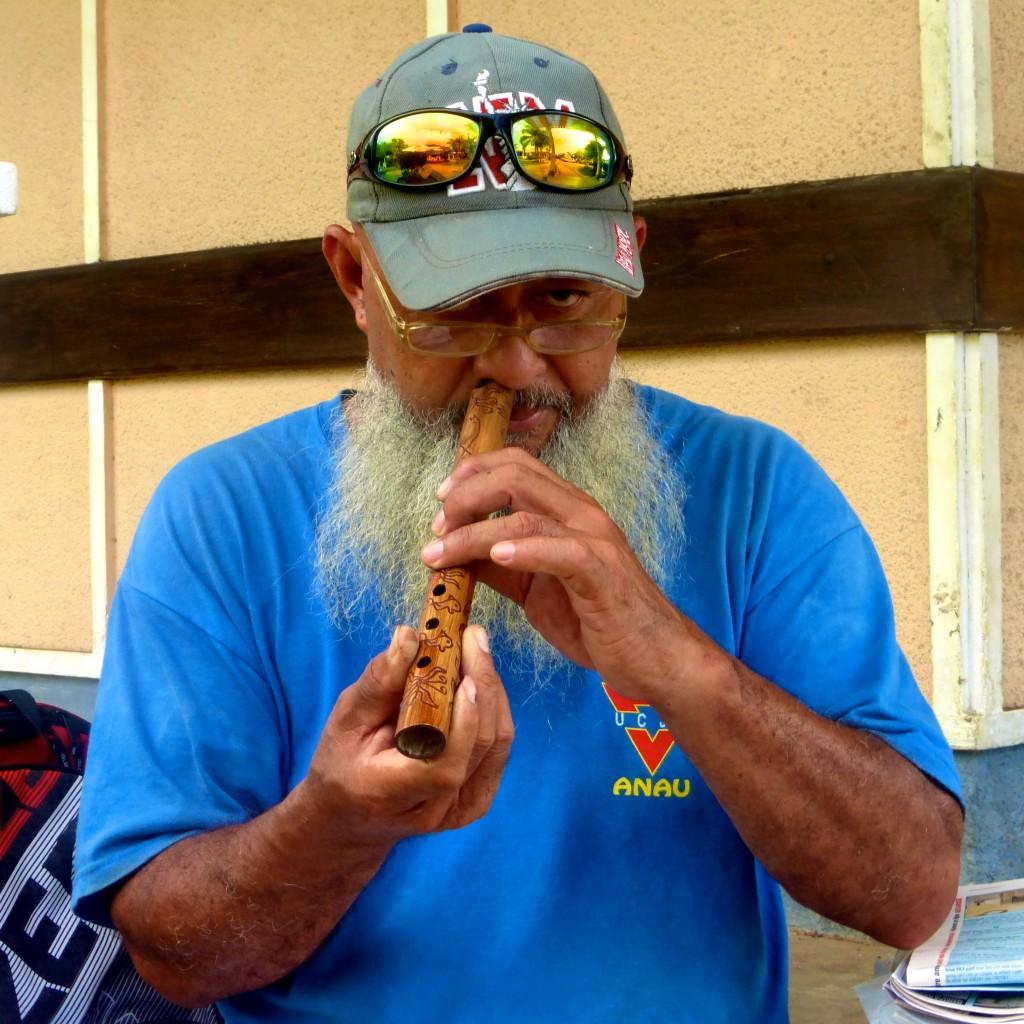 Hand Carved Nose Flute