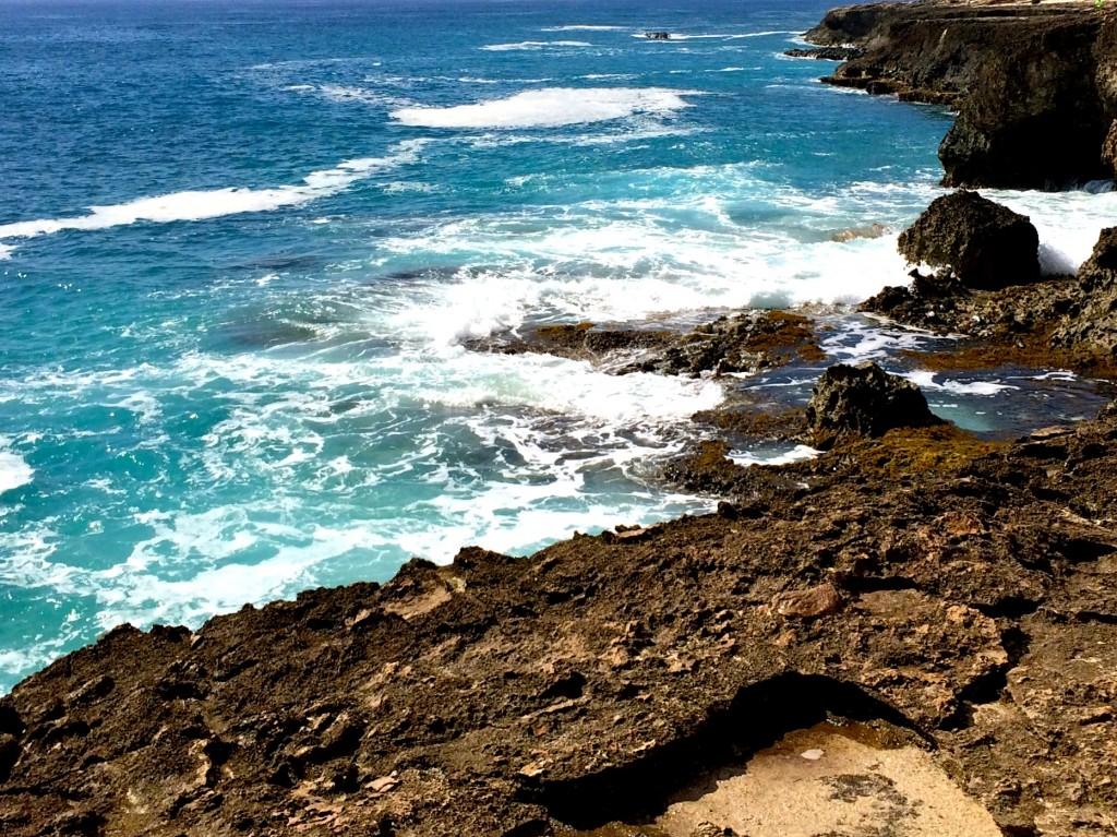 Land And Sea - Ka'ena Point State Park - Hawaii