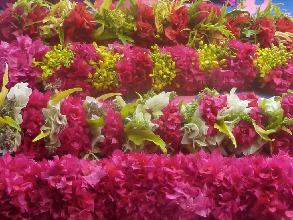Man Made Textures - Flower Leis (Heis)  - Tahiti