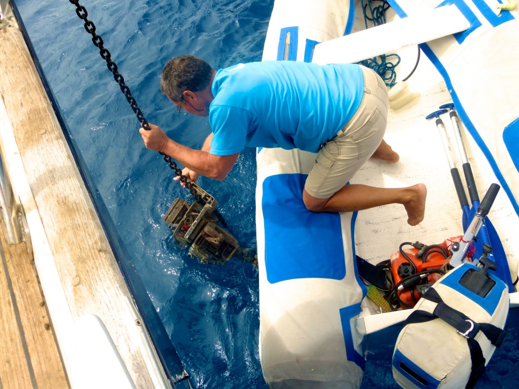 Freeing Anchor From Engine