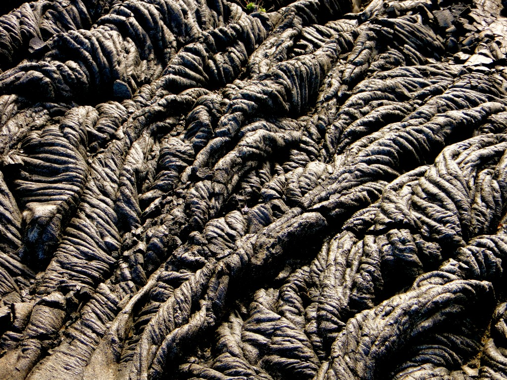 Land Textures - Lava Flow - Hawaii