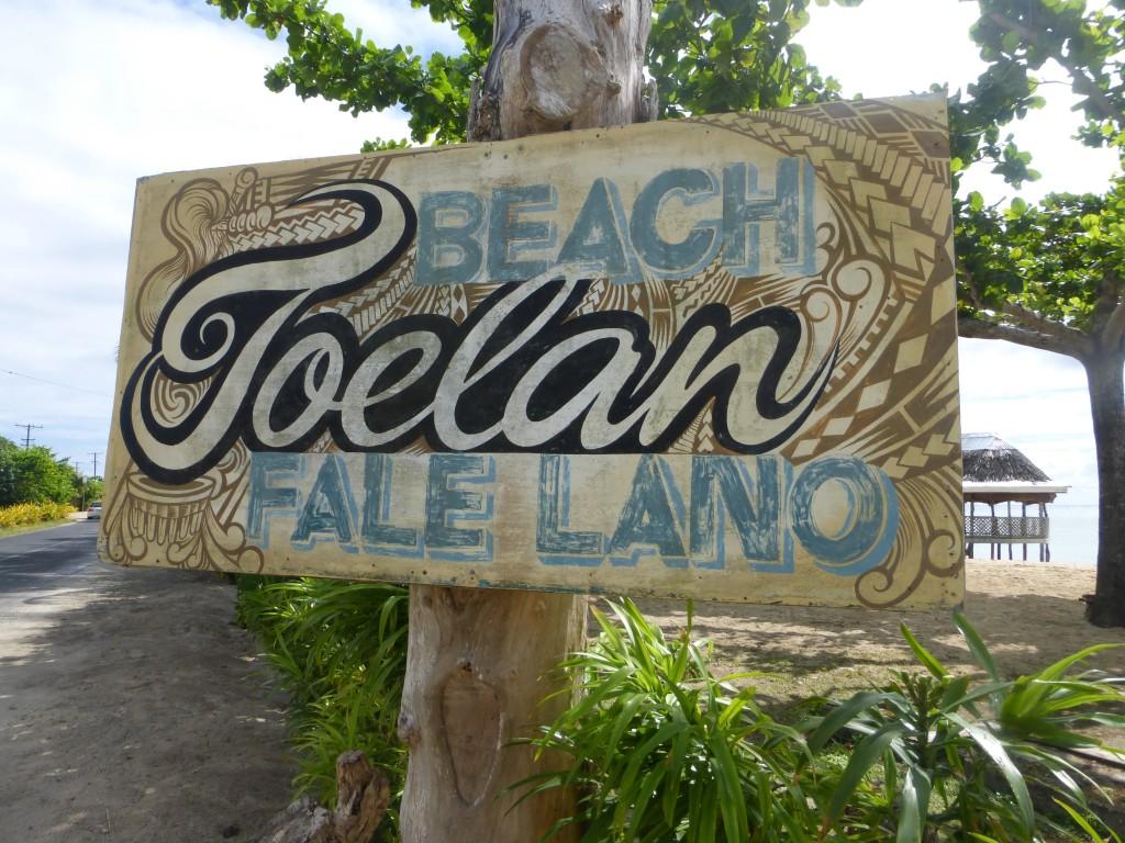 Joelan Beach Fale Lano Beach