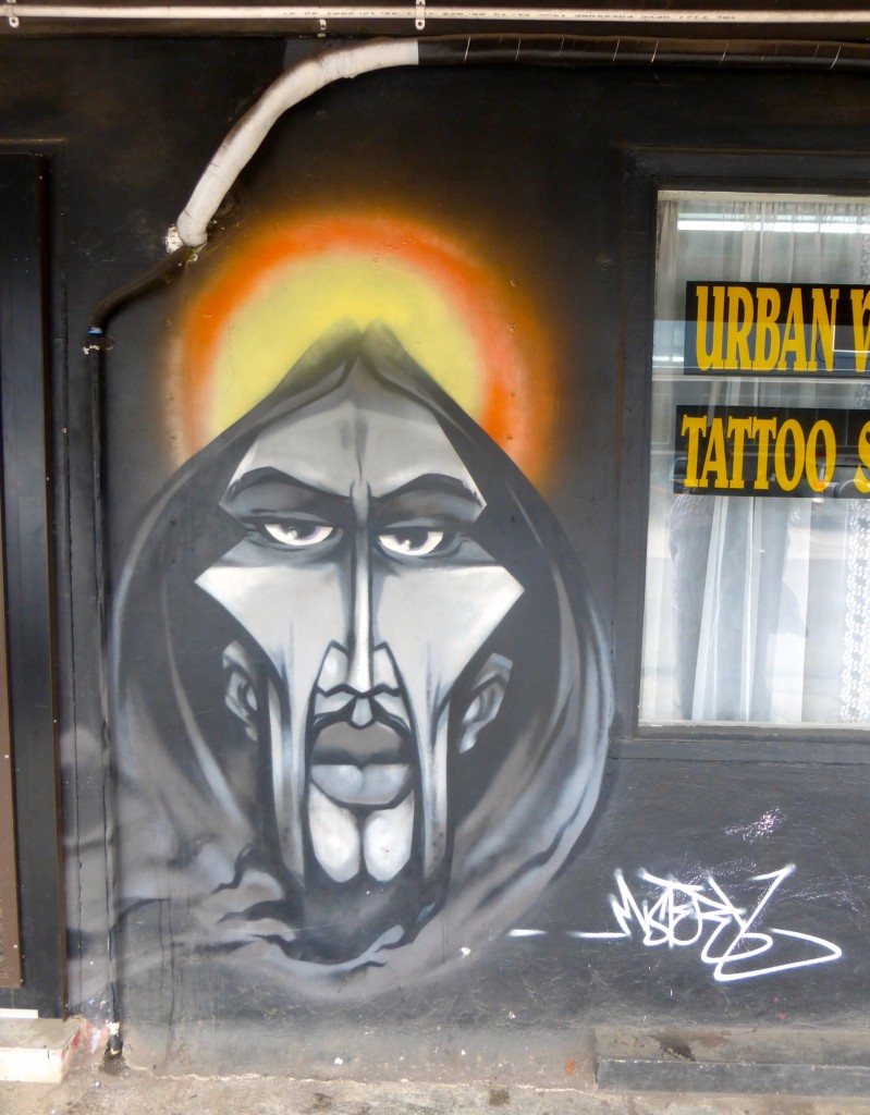Urban Tattoo Parlor - Apia, Samoa (date and artist unknown)