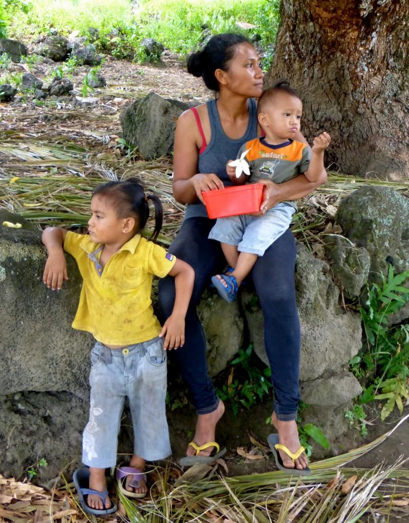 Enda with Joseph and Vunga