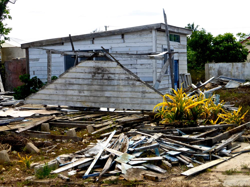 Example of Devastation from Cyclone Ian