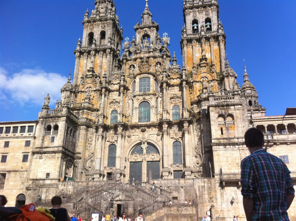 Santiago de Compostela  - OCtober 2014 - Grand Cathedral  Image Courtesy Mike O'Neill