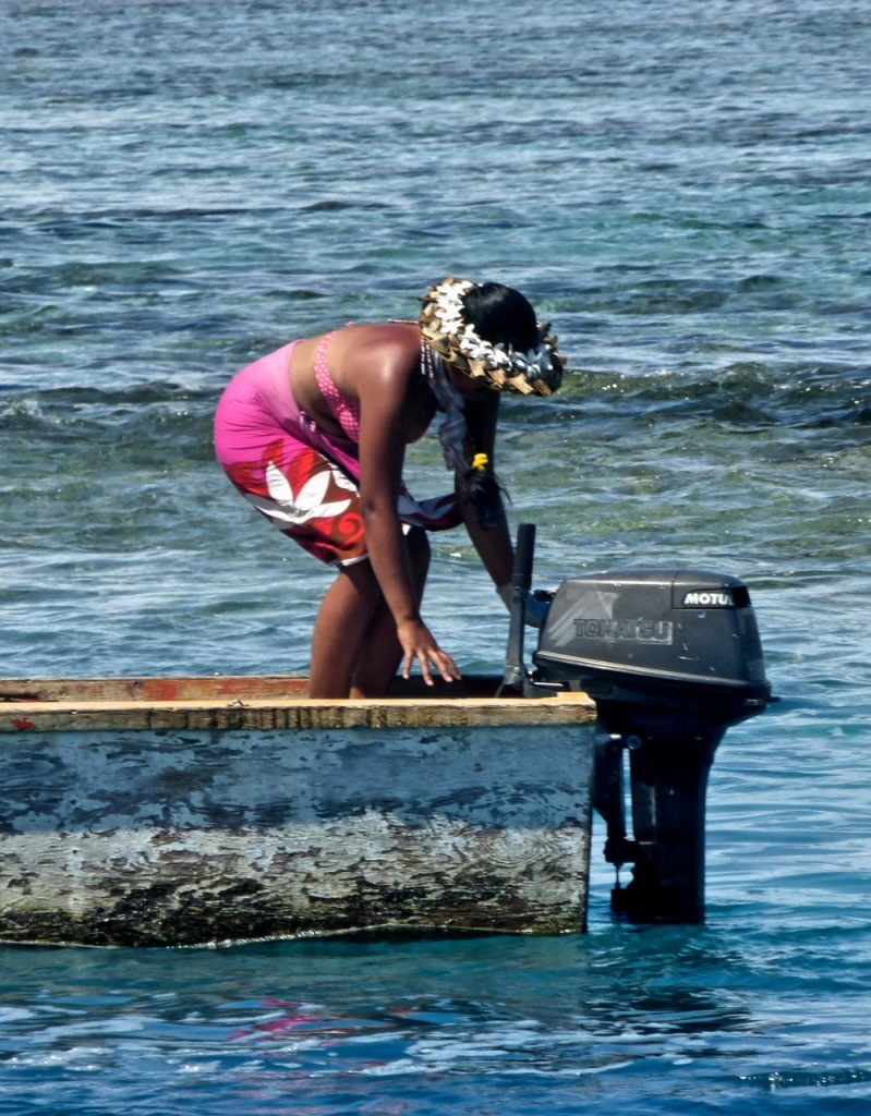Maupiti - August 2014 - The Fisherman's Wife
