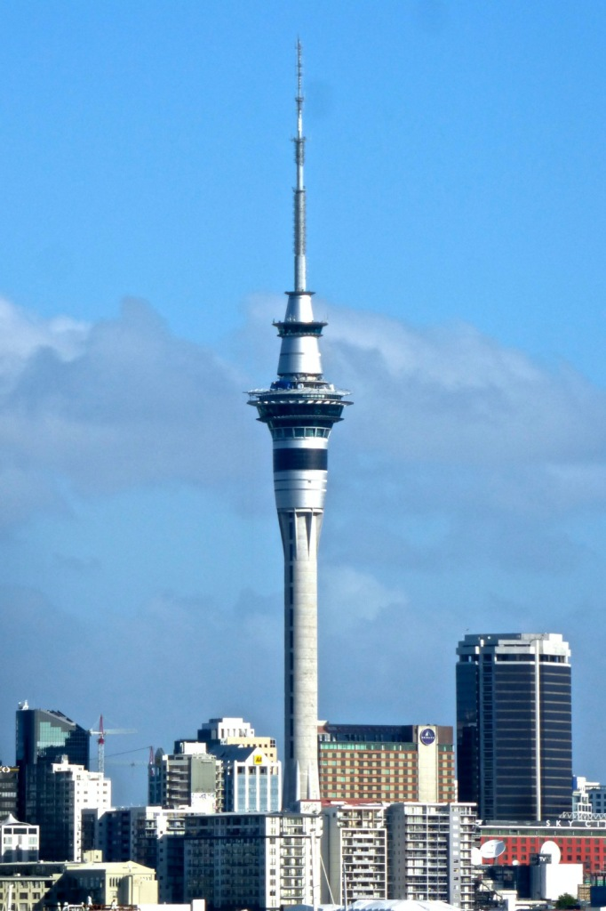 Sky Tower Rises From The Skyline