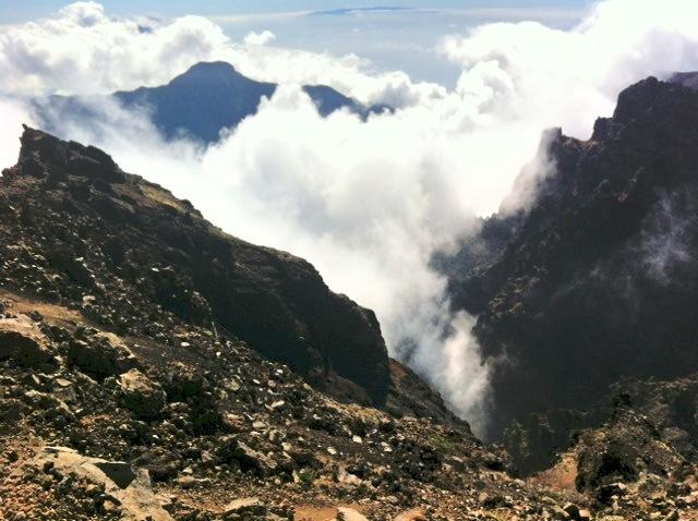 La Palma Volcano Image Courtesy Mike O'Neill