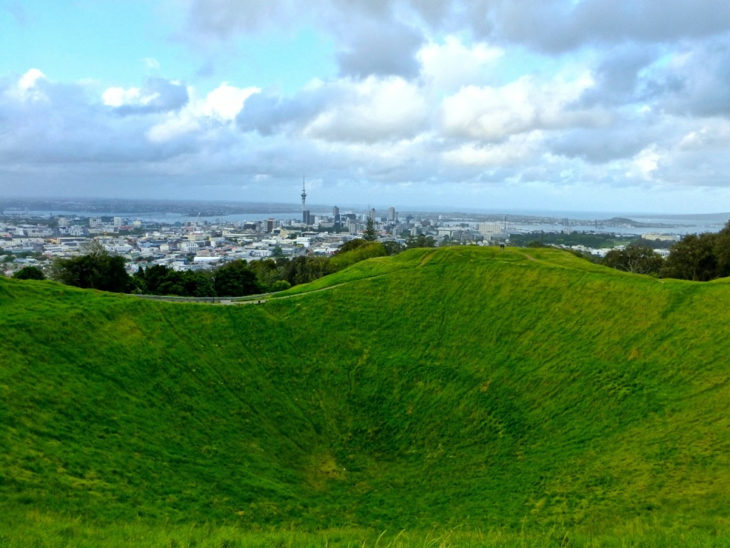 Auckland Viewed From Mt Eden