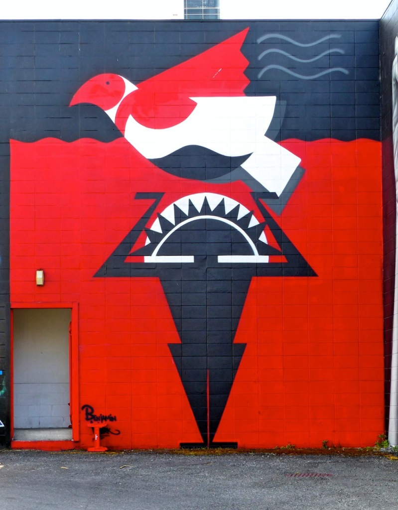 Lake Taupo Mural - Benjamin Work