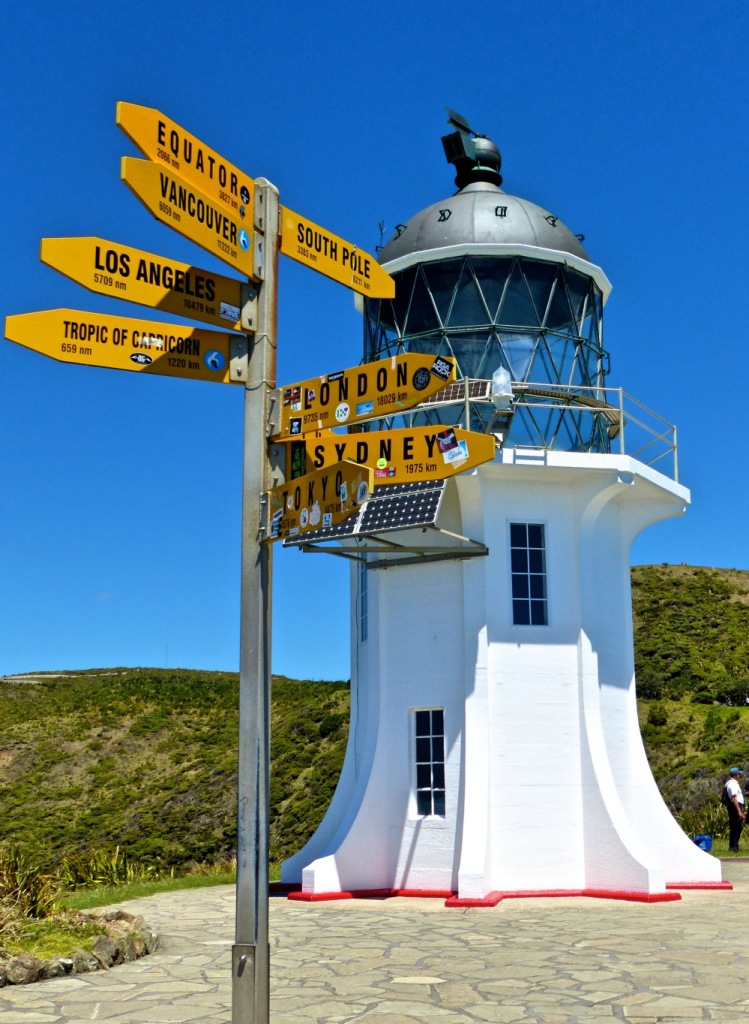 Light House At Cape Reinga