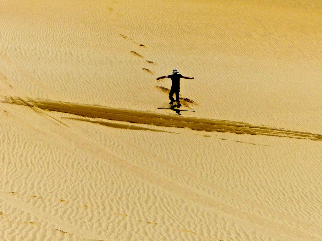 Captain On Te Paki Sand Dunes
