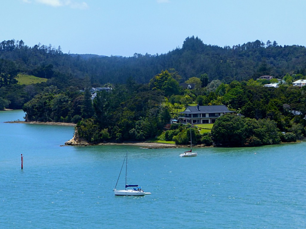 New Zealand - January 2015 - Entering Opua