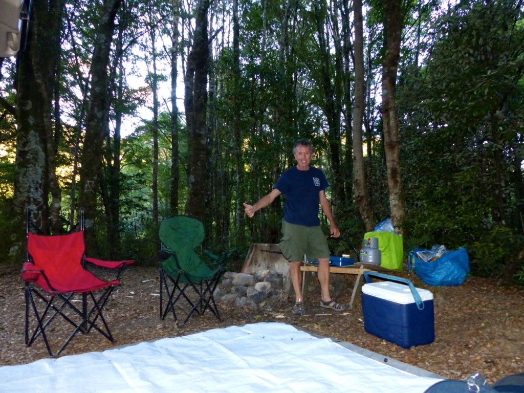 New Zealand - January 2015 - Setting Camp Waihaha Valley_Copy