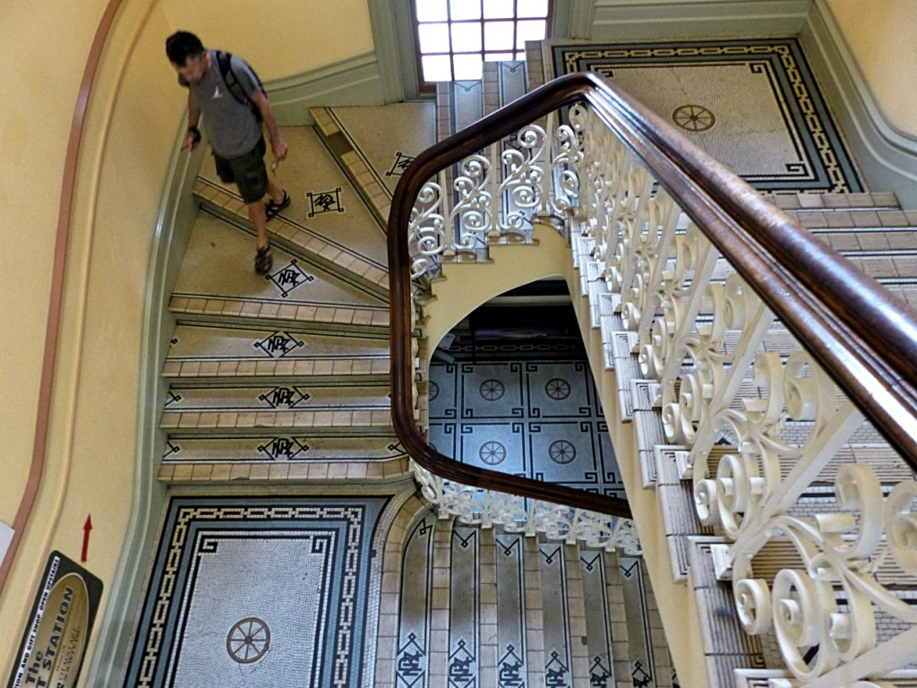 Descent To The Depths Of The Dunedin Railway Station