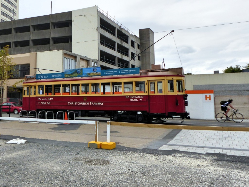 Christchurch Tramways Operational Again After 1000 Days Suspension