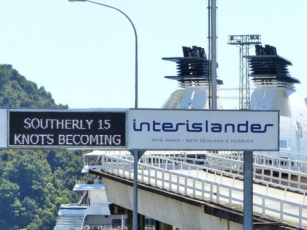 InterIslander Ferry Return