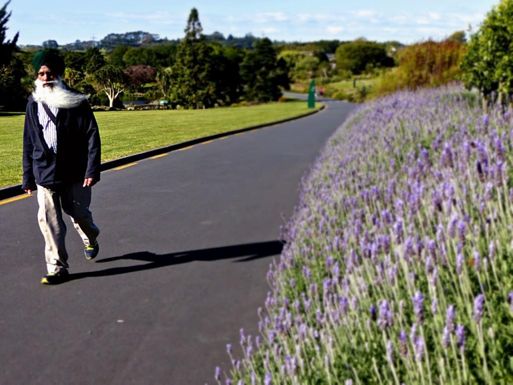 At The Botanic Garden