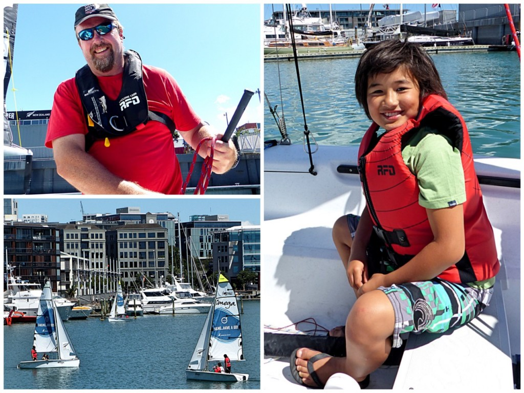 New Zealand - March 2015 - Sailing Have A Go