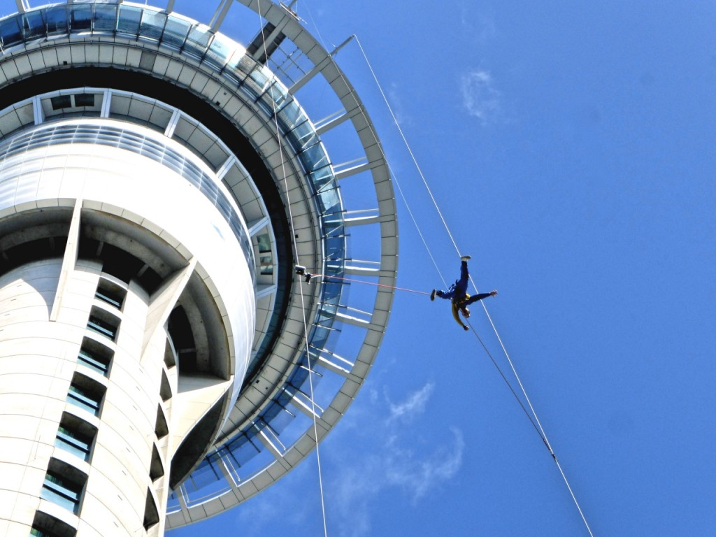 Air - Sky Tower Jumper - New Zealand