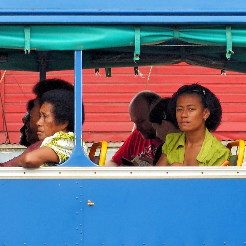 Savusavu - June 2015 - Bus To Labasa