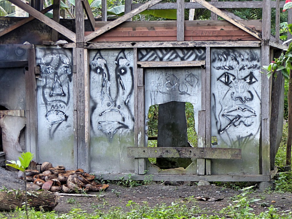 1st Street (Off The Side of a Dirt Road) Art In Fiji