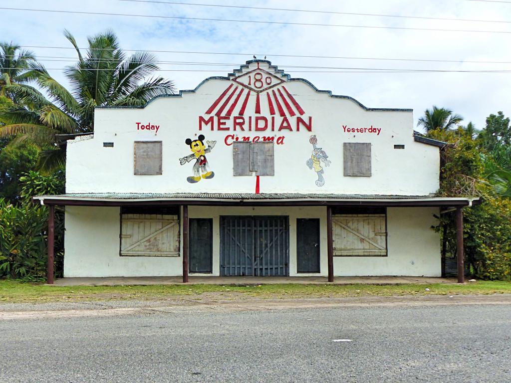 Meridian Theater  Straddling The International Dateline Taveuni, Fiji