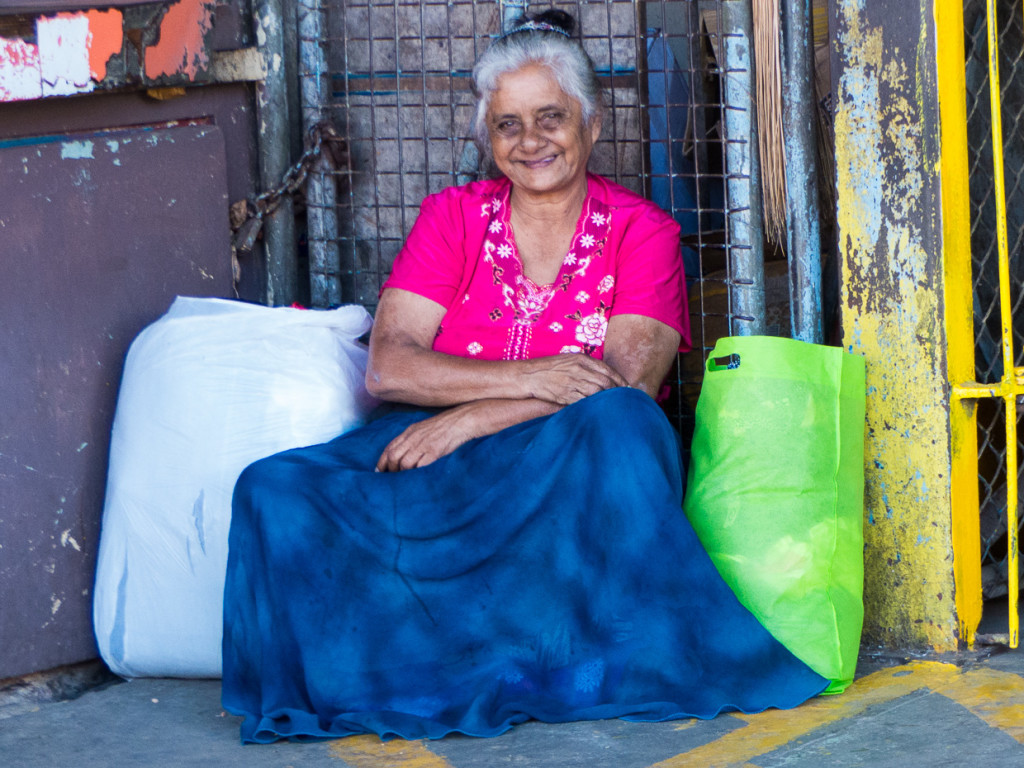 Woman At The Sigatoka Market