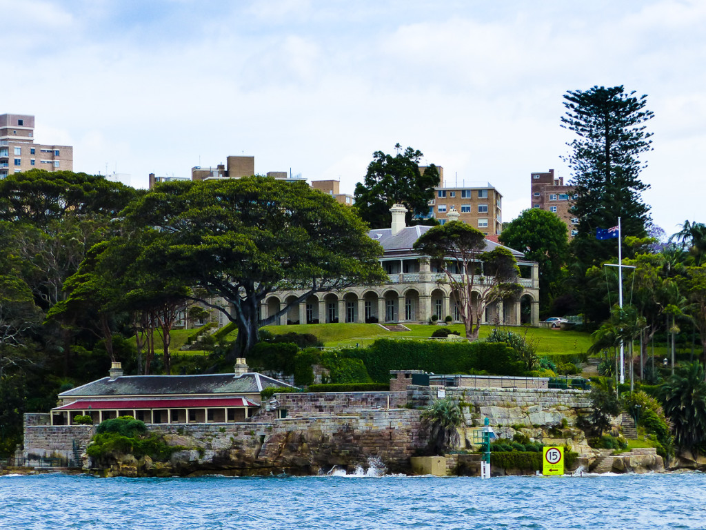 Admiralty House - Kirribilli Point