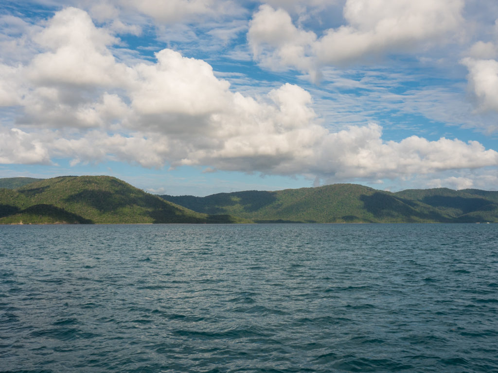 Entering The Whitsundays