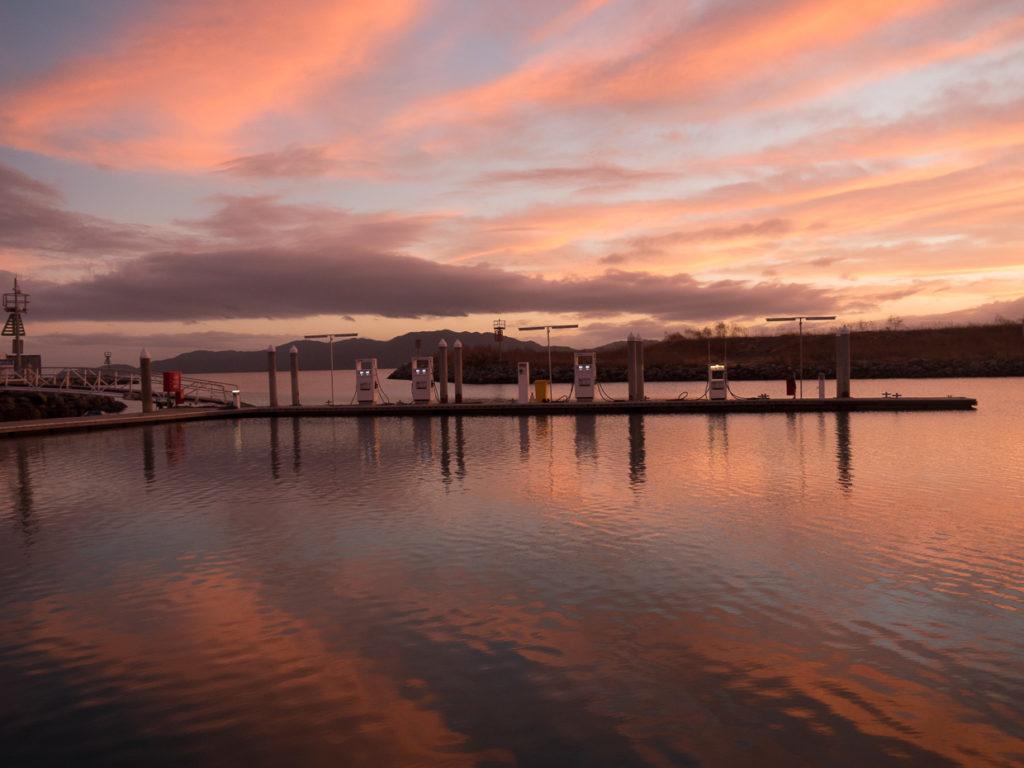 Sunrise Breakwater Marina Townville