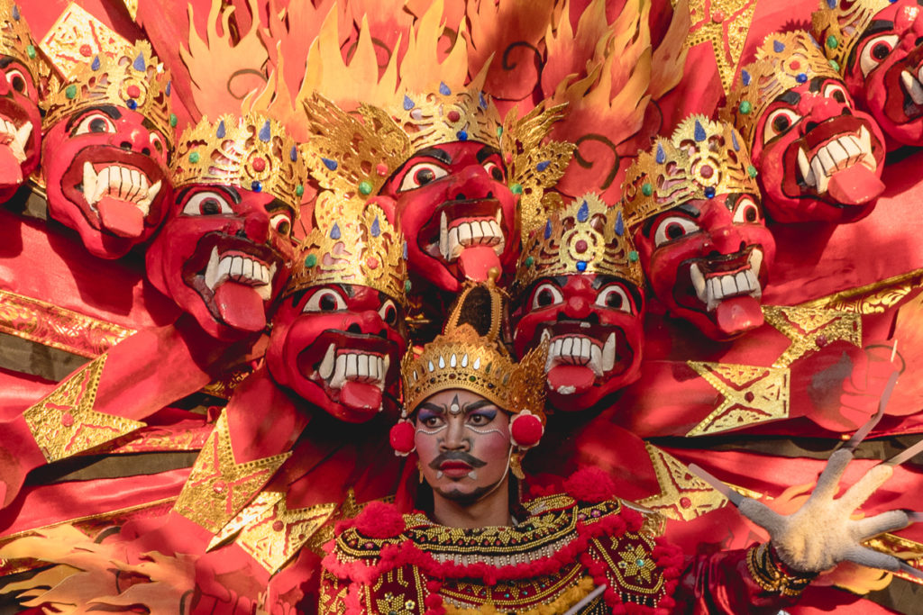 Bali On Fire For Cardinal Guzman's The Changing Seasons