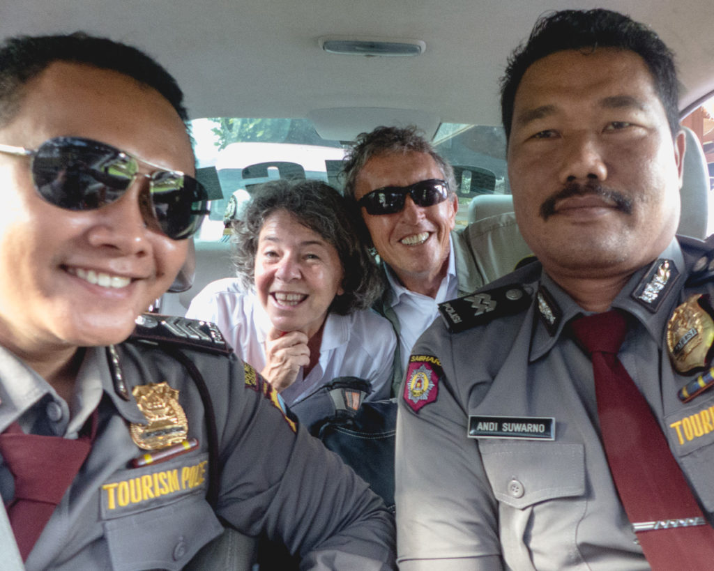 Cruising With The Tourist Police