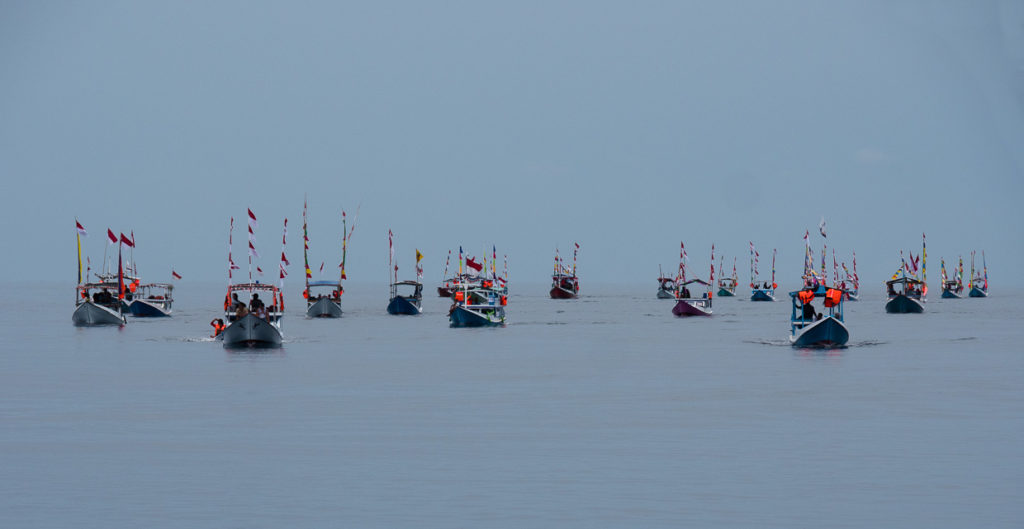 Fishing Fleet Welcome Karimunjawa