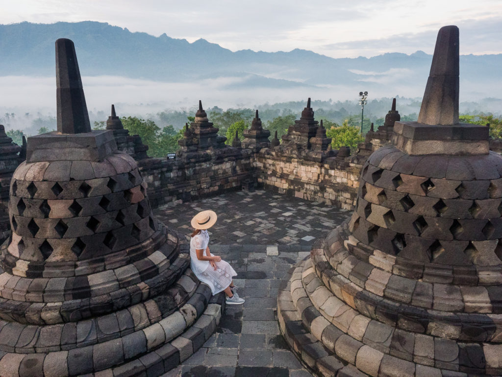 Early Morning Borobudur